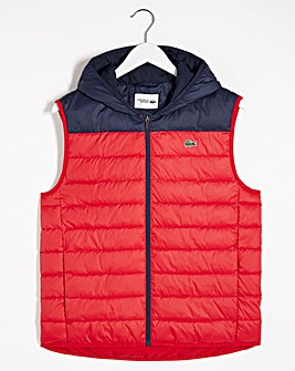 Lacoste Hooded Gilet