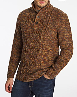 Joe Browns Three Button Knit Jumper