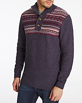 Joe Browns Four Button Jumper
