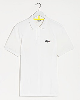 Lacoste x National Geographic Animal Print Croc Logo Polo