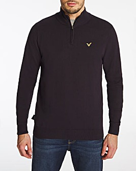 Voi Storm Quarter Zip Jumper