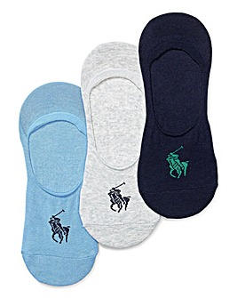 Polo Ralph Lauren 3 Pack Shoe Liners