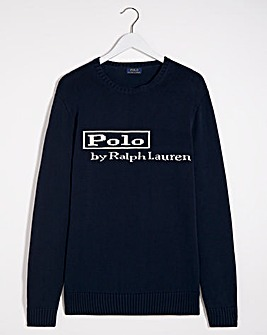 Polo Ralph Lauren Navy Long Sleeve Hunter Jumper