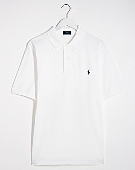 Polo Ralph Lauren White Classic Short Sleeve Polo
