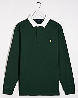 Polo Ralph Lauren Green Rugby Sweatshirt