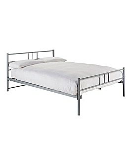 Ohio Metal Bed with Memory Mattress