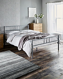 Ohio Metal Bed Quilted Mattress