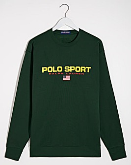 Polo Ralph Lauren College Green Sport Sweatshirt