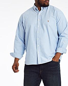 Polo Ralph Lauren Blue Classic Fit Long Sleeve Oxford Shirt