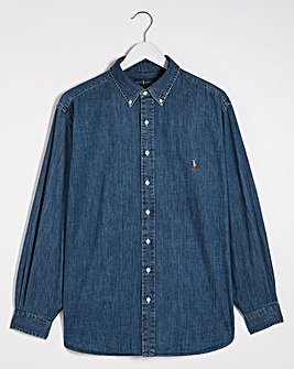Polo Ralph Lauren Classic Fit Long Sleeve Denim Shirt