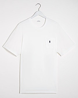 Polo Ralph Lauren White Short Sleeve Crew Neck T-Shirt