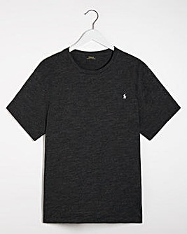 Polo Ralph Lauren Black Marl Short Sleeve Crew Neck T-Shirt