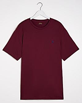 Polo Ralph Lauren Wine Short Sleeve Crew Neck T-Shirt