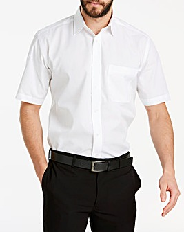 Double Two White Short Sleeve Shirt