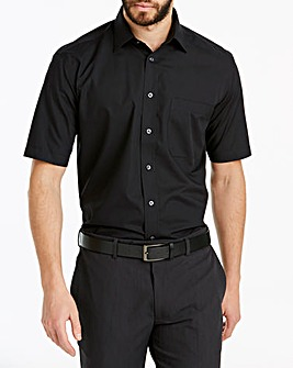 Double Two Black Short Sleeve Shirt