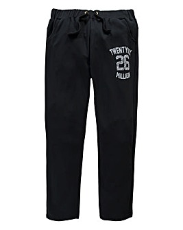 26 Million Knight Black Jog Pants