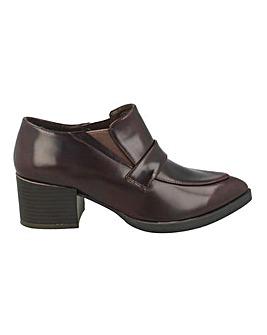 Block Heel Shoe Boot Standard Fit