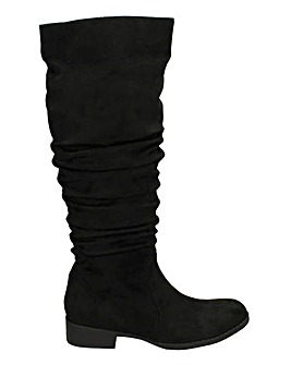Slouch Knee High Boot Standard Fit