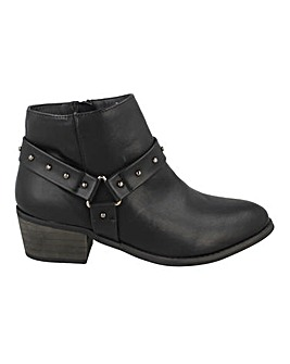 Strappy Ankle Boot Standard Fit