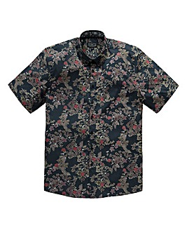 Label J Ainsley Floral Shirt Long