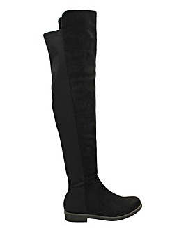 Over The Knee Sock Boot Standard Fit