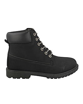 Lace Up Hiker Boots Standard Fit