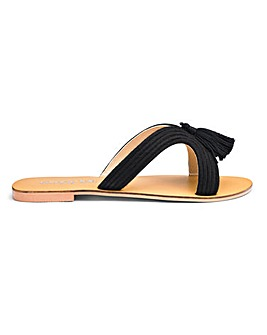 Amara Tassel Slide Extra Wide EEE Fit