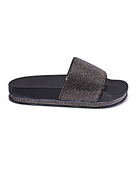Lillian Flatform Slide Standard Fit