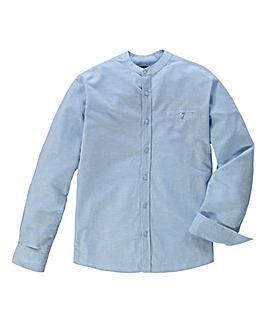 Black Label Pedra Linen Mix Shirt Long