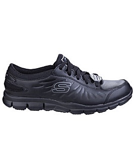Skechers Eldred Slip Resistant Lace Up Work Shoe