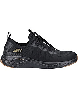 Skechers Solar Fuse-Valedge Slip On Jogger Trainer with Lace