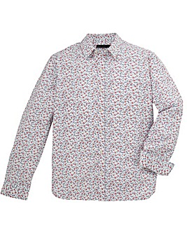 French Connection Long Sleeved Floral Shirt