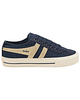 Gola Quota Mirror standard fit plimsolls