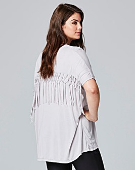 Religion Tassel Detail Flourish Top