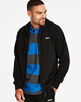 Mitre Zip Front Hoody Long