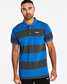 Mitre Stripe Polo Top Regular