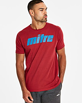 Mitre Logo T-shirt Regular