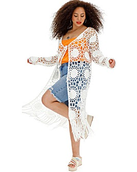 e5f725c716 Women's Knitted Cardigans | Black, Cream & White | Simply Be