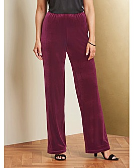 Velour Trouser 29in