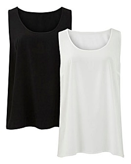 Pack of 2 Vests