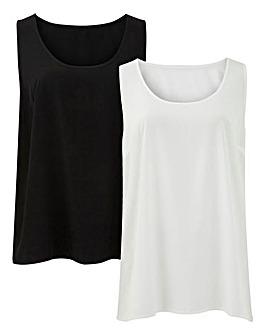 Pack of 2 Vests