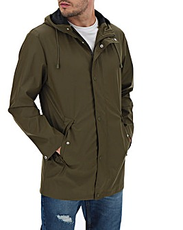 Olive Waterproof Coat