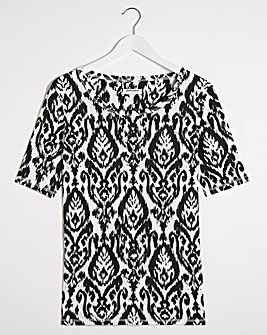 Mono Print Value T-Shirt