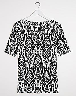Mono Print Value T-Shirt