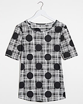 Spot/Stripe Value T-Shirt