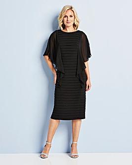 Stretch Pleated Dress