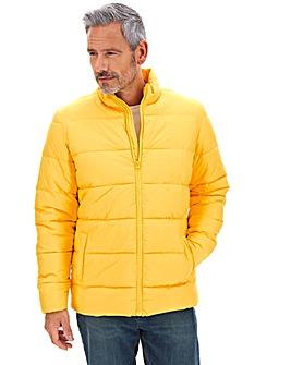 Yellow Padded Puffer Jacket