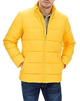 Yellow Padded Puffer Jacket