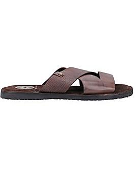 Base London Alecco Waxy Emboss Sandal