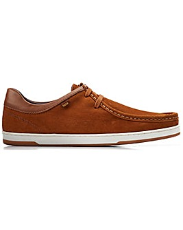 Base London Dougie Suede Lace Up Shoe